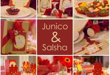 The Engagement of Junico &  Salsha by XLO Photography