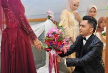 Rahma & Amri Wedding Reception by Garland Galore Flower Shop