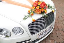 Beautiful Bentley by Priority Rent car
