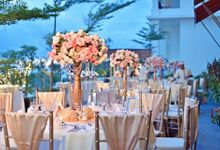 Elegant Wedding for Donna & Ricky by magical blossoms