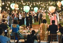 Up Movie Inspired Wedding Decoration for Yose & Nysia by magical blossoms
