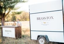 Brass Fox Wedding Shoot by Brass Fox Coffee Cart