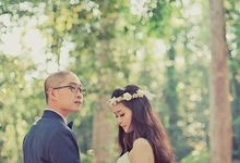 Pre-wedding Shoot YM & YL by ABSOLUTE BRIDE