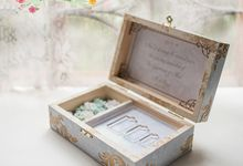 Custom Themed Ring box by Signature Wedding Details
