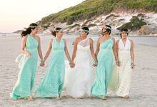 Olympias Mint Green Bridesmaids by Goddess By Nature