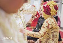 Marriage Ceremony of Zahra & Andika by Lumaga Photography