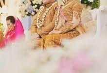Wedding Reception of Zahra & Andika by Lumaga Photography