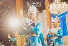 Zhagita & Tian by Lumaga Photography