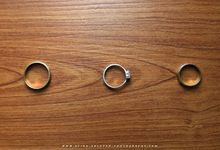 THE WEDDING RING by Aying Salupan Designs & Photography