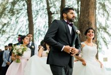 South indian wedding in thailand by destination  photographers