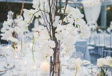 Modern Grey watercolor with gold touches by Spectrum Agency