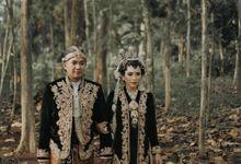 ❤️ the wedding of agung & asa ❤️ by Galandinikebayagaun