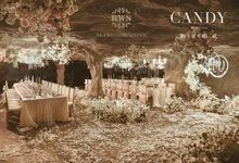Luxury Exclusive Cave Wedding Dinner Decoration by Bali Wedding Service