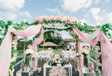 The Wedding of  Tian & Michael at Ayana Villa by Red Gardenia