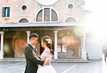 A Romantic Pre-Wedding in Venice-Italy by DUC THIEN PHOTOGRAPHY