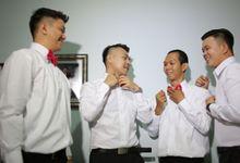 Adrian & Astrid Morning Preparation by Impressions Wedding Organizer