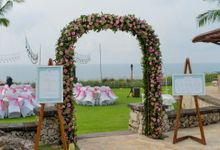 Wedding Rustic Pink by d'Oasis Florist & Decoration