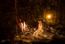 An Into the woods prenup for Migz and Kat by Jiggie Alejandrino Wedding Photographs