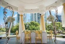 Beautiful Outdoor Solemnization by I Bridal Weddings