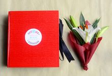 flower card for anniversary by Colours Florist