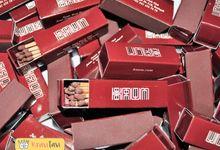 Match box for Kaum Hotel by KRAVITAVI