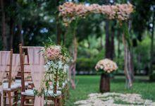 kayumanis nusa dua-wedding ceremony- green patio by Kayumanis Private Villa and Spa