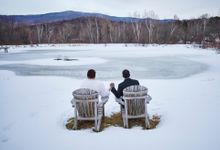 Winter Elope by The Green Barn Wedding Photography, LLC