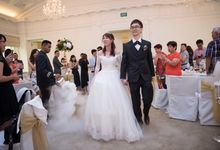 Keith & Yue Ting actual day by I Bridal Weddings