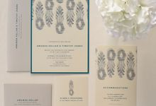 IKAT PINEAPPLE by Paper Pressed