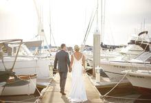 Sarah and Jarrod by Sandringham Yacht Club