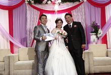 Wedding at gading premiere hall by X-Seven Entertainment