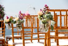 Wedding outdoor concept & facilities by Nomina Pecatu Villas