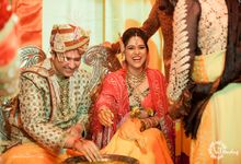 Swati weds Ashish by vjharshaphoto