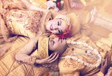 Putri & Riko Prewedding plus Wedding by NC Photo