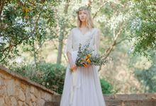 Lavender Gown by Ivory Silk