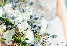 Outdoor Wedding Inspiration by Aleksandra Semyonova