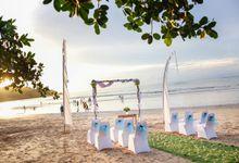 Beach Wedding by Karma Jimbaran
