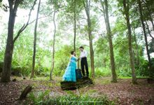 Hendra & Martha - pre wedding by HD Photography