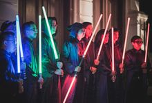 Star Wars Themed Wedding of Astra and Bintang by Yes Please!