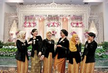 Wedding Of Sari & Olif by The Rainbow Organizer