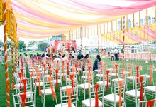 Garden Wedding by Palace of the Golden Horses