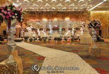 Gold Theme by Evlin Decoration