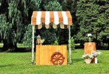 Gelato Cart for Wedding in Bali by Bellassima Gelato