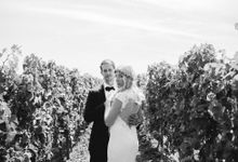 A summer vineyard wedding by Kevin Klein fine art wedding photography