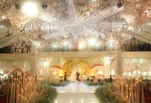 The Wedding of Agus & Irene by Dyandra Convention Center Surabaya