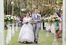 YESAYA & NINDY by Raffles Hills Cibubur - On Green Garden Venue