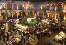THEIR FABULOUS WEDDING AT EX- COLEGIO DE LAS MONJAS VIZCAINAS by GONZALEZ + HELFON