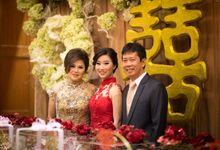 The engagement of Jessica & Hans at Lung Yuan Restaurant by Sheraton Surabaya Hotel & Towers