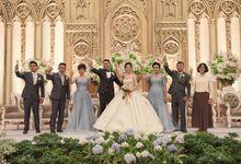 Wedding of Tobias & Inke by Royal Ballroom The Springs Club