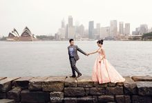 PREWEDDING OF MARSELL & CATHERINE by Jessica Sim